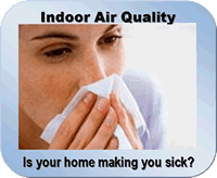 Is your home making you sick?  We can help, check out our indoor air quality products!