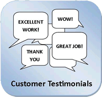 Don't just take our word for it, take a look at these real customer testimonials!